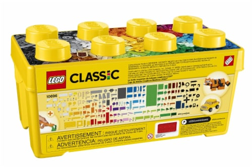 LEGO® Classic Medium Creative Brick Box Building Blocks Perspective: back