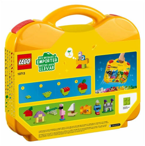 10713 LEGO® Classic Creative Suitcase Perspective: back