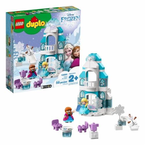 LEGO DUPLO 10899 Disney Frozen Ice Castle Building Kit 59 Pieces w/ 3 Figures Perspective: back