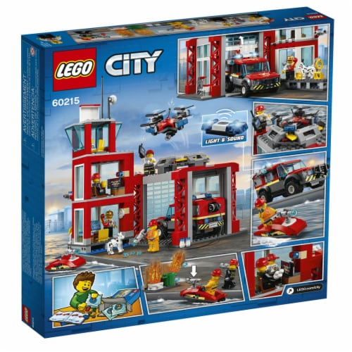 60215 LEGO® City Fire Station Perspective: back