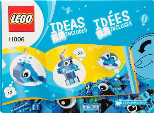 11006 LEGO® Classic Creative Blue Bricks Perspective: back