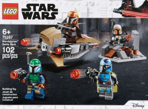 75267 LEGO® Star Wars Mandalorian Battle Pack Building Toy Perspective: back