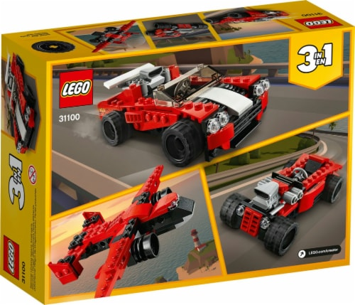 31100 LEGO® Creator Sports Car Perspective: back