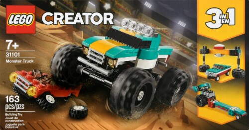 31101 LEGO® Creator Monster Truck Building Toy Perspective: back