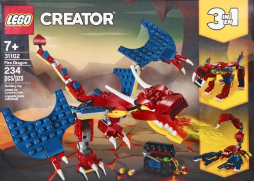 31102 LEGO® Creator 3in1 Fire Dragon Perspective: back