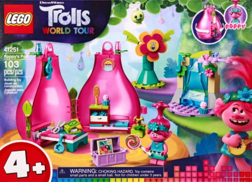 41251 LEGO® Trolls World Tour Poppy's Pod Building Toy Perspective: back