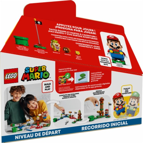 LEGO® Super Mario 71360 Aventures With Mario Perspective: back
