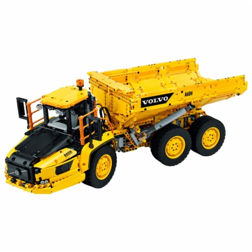 LEGO LEGO Technic 6x6 Volvo Articulated Hauler - 42114 - Control + App Perspective: back