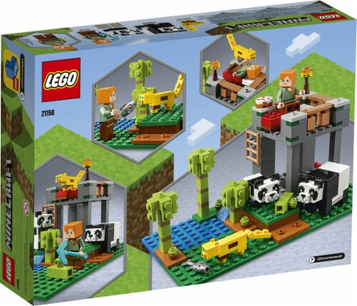 21158 LEGO® Minecraft The Panda Nursery Building Toy Perspective: back