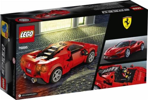 LEGO® Speed Champions Ferrari F8 Tributo Building Set Perspective: back