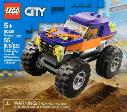 60251 LEGO® City Monster Truck Building Toy Perspective: back