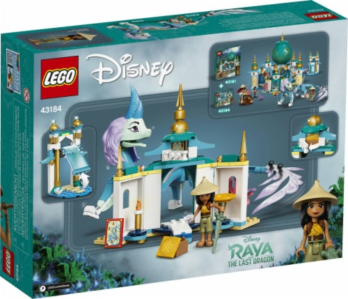 43184 LEGO® Disney Raya and Sisu Dragon Building Toy Perspective: back