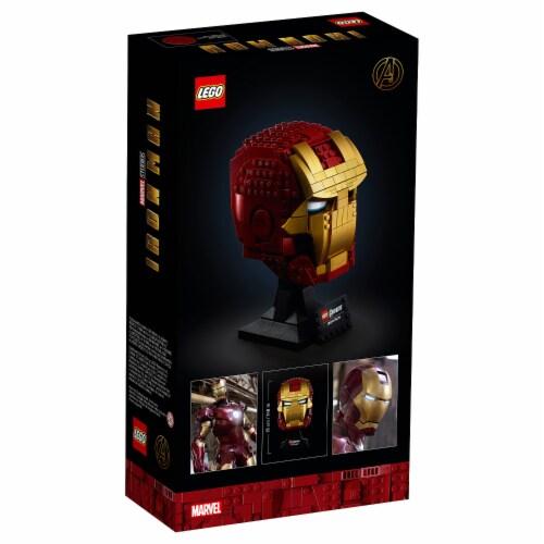 76165 LEGO® Avengers Iron Man Helmet Collectible Perspective: back