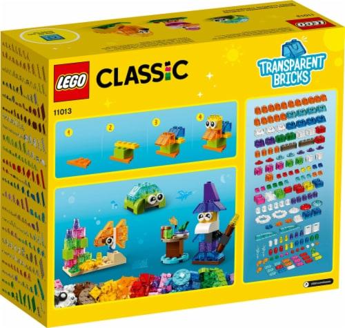 11013 Lego® Classic Creative Transparent Bricks Perspective: back