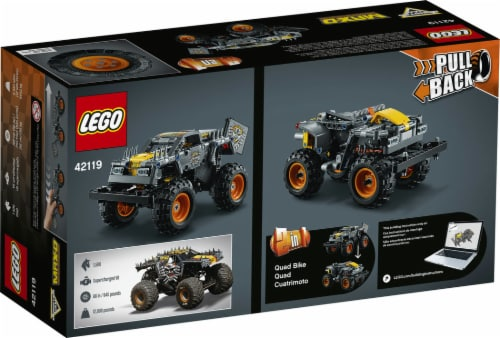 42119 LEGO® Tecnic Monster Jam Max-D Building Set Perspective: back