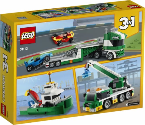 31113 LEGO® Creator Race Car Transporter Building Toy Perspective: back