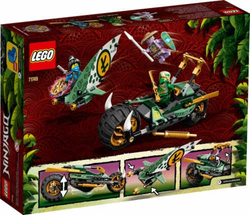 71745 LEGO® Ninjago Lloyd's Jungle Chopper Bike Perspective: back