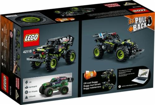 42118 LEGO® Technic Monster Jam Grave Digger Perspective: back