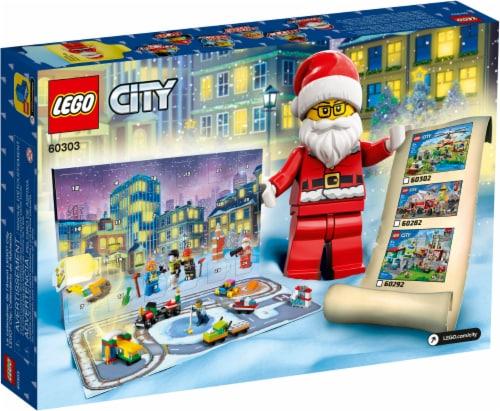 LEGO® City Advent Calendar Perspective: back