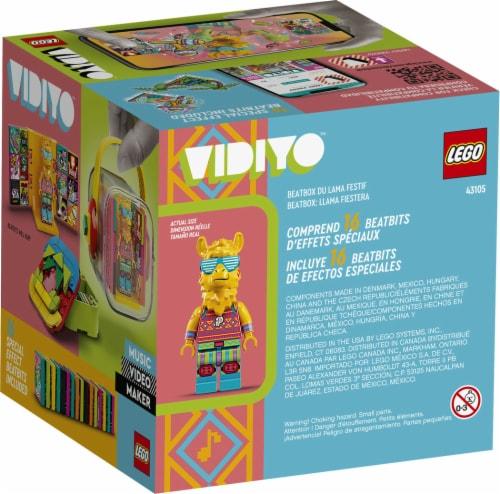 LEGO® VIDIYO Party Llama Beatbox Building Toy Perspective: back