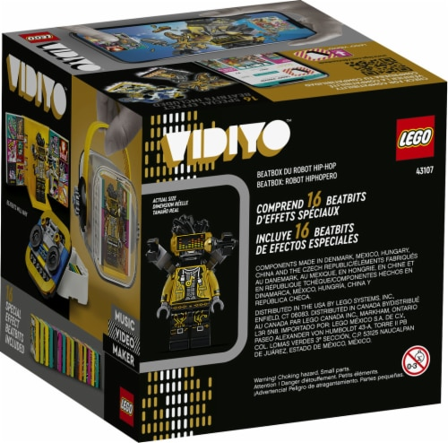 LEGO® VIDIYO Hiphop Robot Beatbox Building Toy Perspective: back