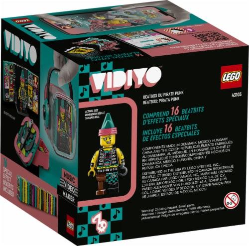 LEGO® VIDIYO Punk Pirate Beatbox Building Toy Perspective: back