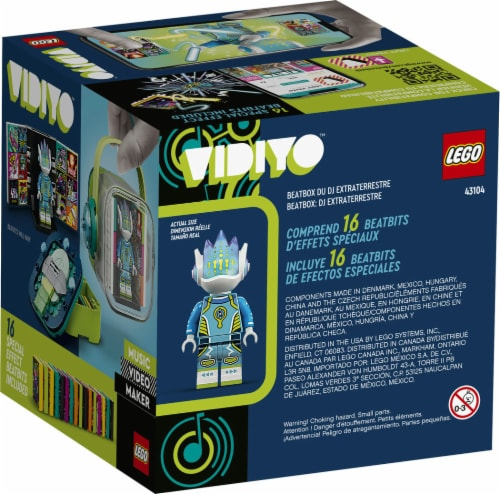 43104 LEGO® VIDIYO Alien DJ Beatbox Building Toy Perspective: back