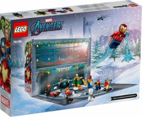 LEGO® 76196 The Avengers Advent Calendar Perspective: back
