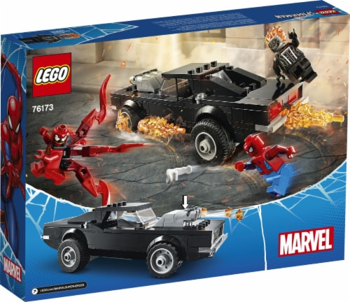76173 LEGO® Spider-Man and Ghost Rider vs. Carnage Building Set Perspective: back