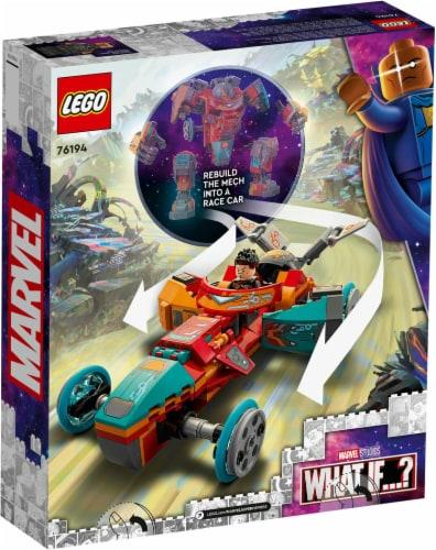 LEGO® Marvel What If? Tony Stark's Iron Man Building Set Perspective: back