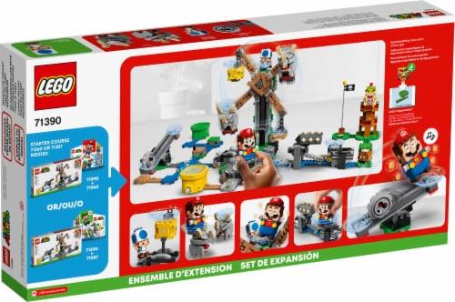 LEGO® Super Mario Reznor Knockdown Perspective: back