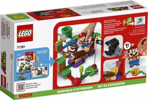 71381 LEGO® Super Mario Chain Chomp Jungle Encounter Building Set Perspective: back