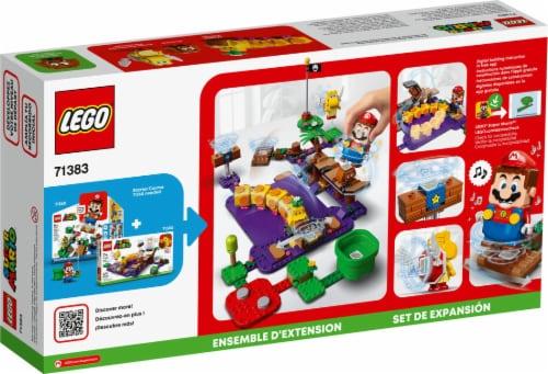 71383 LEGO® Super Mario Wiggler's Poison Swamp Expansion Set Perspective: back