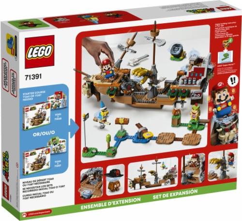 LEGO® Super Mario Bowser's Airship Perspective: back
