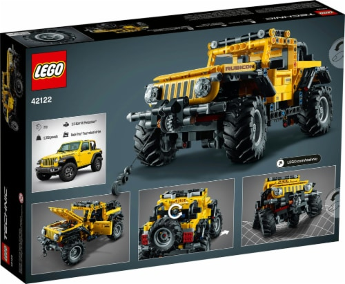 LEGO® Technic Jeep Wrangler Perspective: back