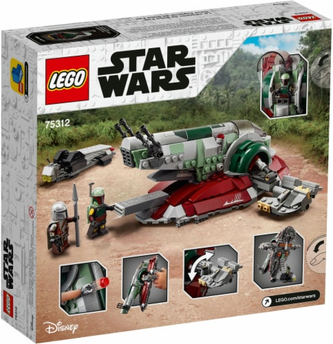 LEGO® Star Wars Boba Fett's Starship Building Set Perspective: back