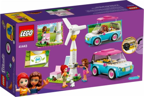 41443 LEGO® Friends Olivia's Electric Car Perspective: back