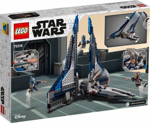 LEGO® Star Wars Mandalorian Starfighter Perspective: back