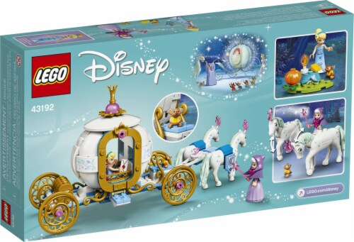 43192 LEGO® Disney Cinderella's Royal Carriage Perspective: back