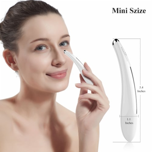 Elegant Home Fashions Portable Electric Eye Massager Vibration Soothing TB-1583 Perspective: back