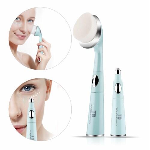 Elegant Home Fashions Bathroom Facial Brush Massager Exfoliater Vibrate TB-1581 Perspective: back