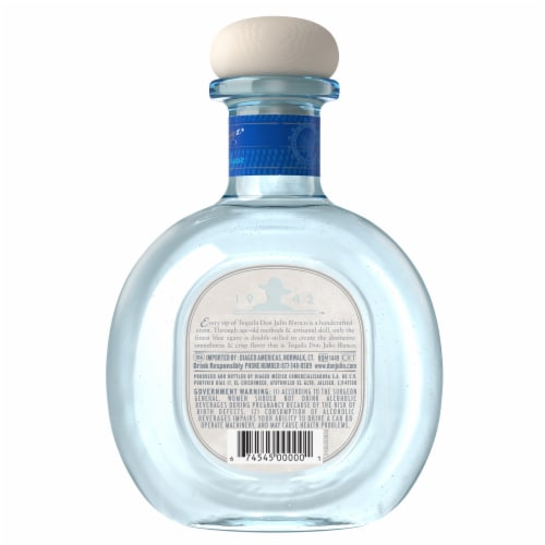 Don Julio Blanco Tequila Perspective: back