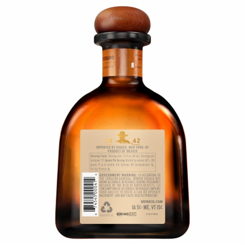 Don Julio Reposado Tequila Perspective: back
