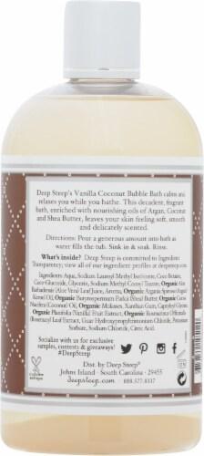Deep Steep® Vanilla Coconut Bubble Bath Perspective: back