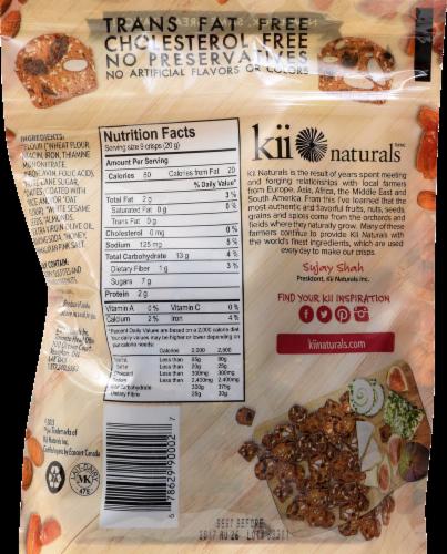 Kii Naturals Date & Almond Crisps Perspective: back