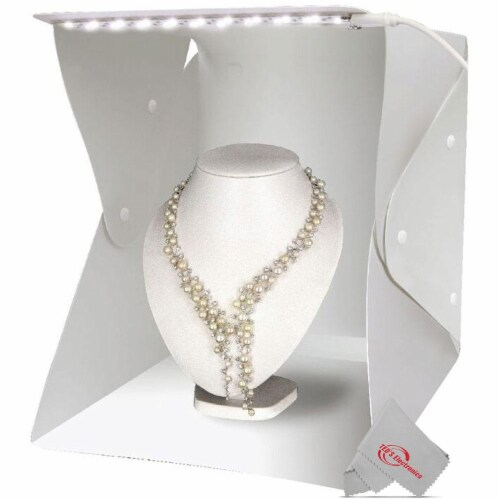 Vivitar 11 Inch Snap Assembly Portable Lightbox For Photography + Backdrops Perspective: back