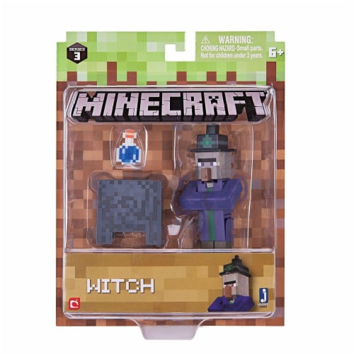 Mojang Minecraft Witch Toy - 3 pc Perspective: back