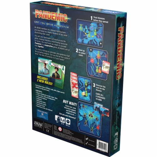 Pandemic Board Game Perspective: back