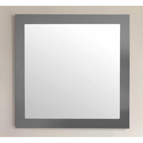 "Nova 28"" Mirror - Grey Perspective: back"