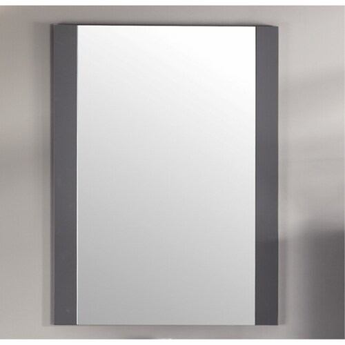 """Rushmore 24"""" Mirror - Grey Perspective: back"""